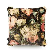 House of hackney Midnight garden Velvet Cushion Multi L